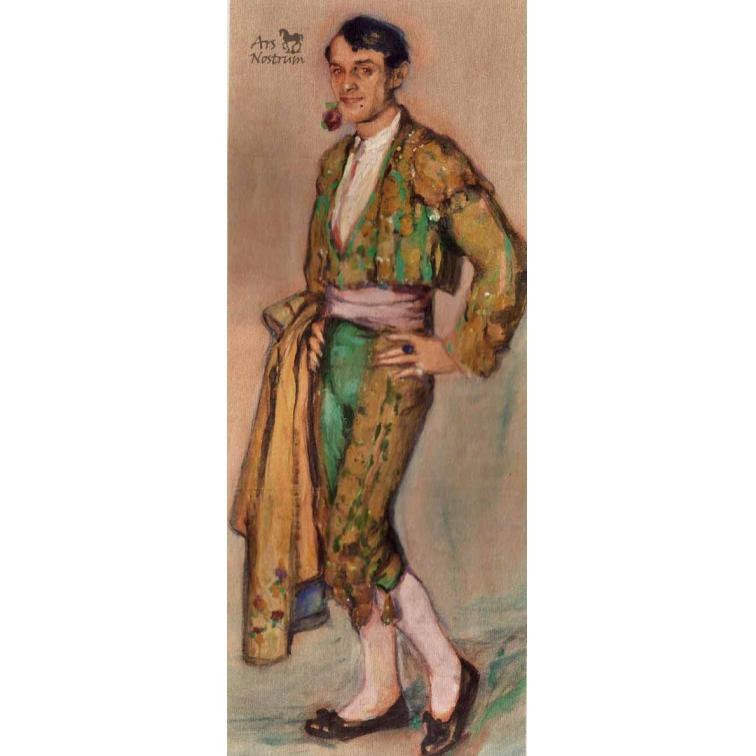 Ismael Smith vestido de torero (c.1913)
