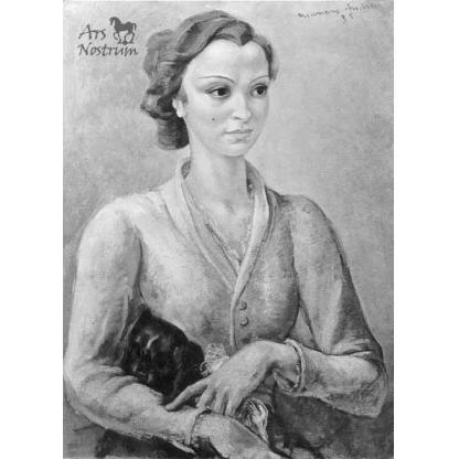 Jeune Fille en Rose (1935)