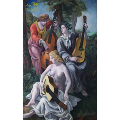 Le Concert / Three Musiciens (1924)