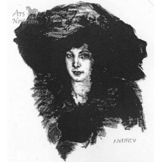 A woman portrait (c.1909)