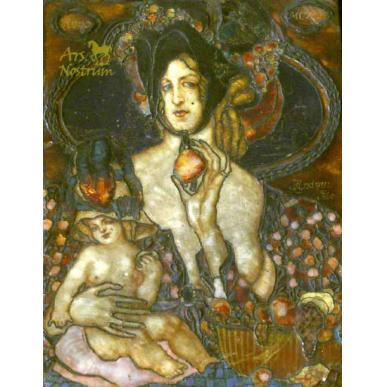La Madonna de la fruita (1910)