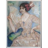 Portrait of Miss Elvira de Hidalgo (1911)