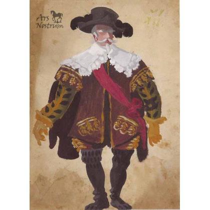 Commandeur Costume (c. 1936)