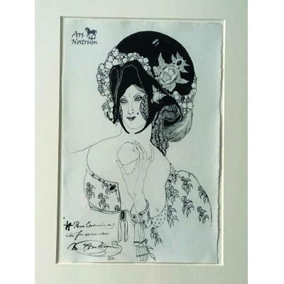 La madonna de la fruita (The goddess of fruit) (1910)