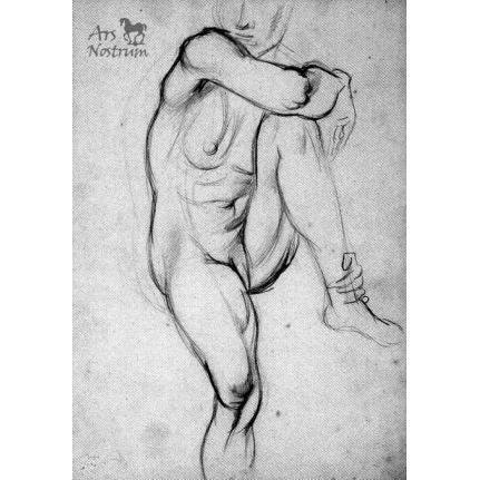 Sketch of Femme assise (c.1934)