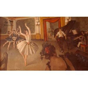 Assaig [said Escola de dansa] (1935)