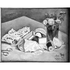Fleurs et Rubans (1921)