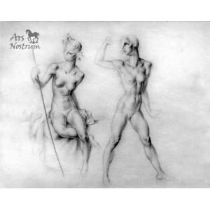 Nudes study (1934)