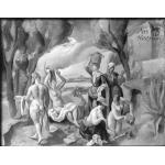 Groupe - Paysage avec un groupe (1925)