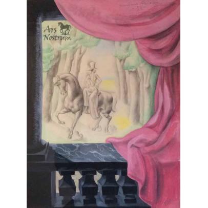 Dama a caballo (Filo) (1932)
