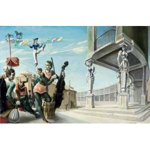 Acrobates à la contrebasse (1940)