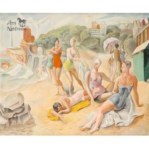 Biarritz / La Plage du Phare à Biarritz (1926)