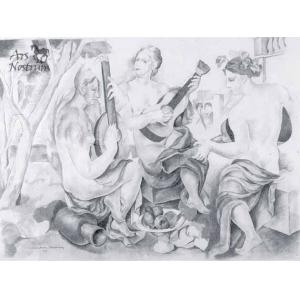 Femmes à la guitarre (1923)